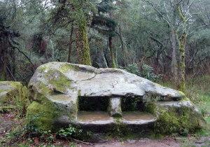 Кудепстиникий культовый камень