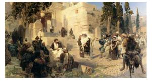 В.Д.Поленов «Христос и грешница» [5]