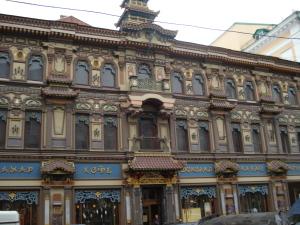 Знаменитый «Чайный дом» на Мясницкой