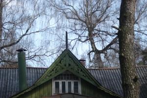 Деревянные узоры старых Подмосковных дач