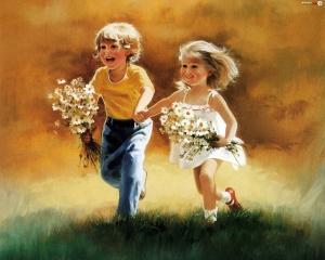 dzieci-kwiaty