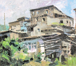 Рис.2. Аул в Дагестане