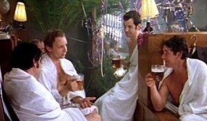Кадр из фильма «Ирония судьбы, или с легким паром!» 1975г.