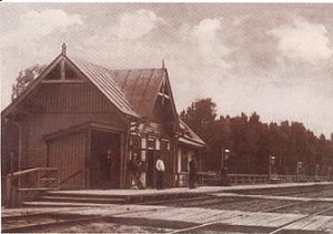 Станция Тарасовская, 1910г.