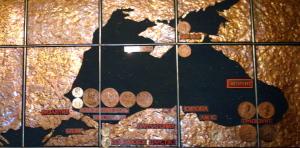 Древняя карта Черного моря