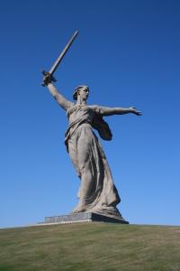 Мамаев курган в Волгограде (Сталинград)