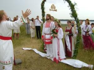 Реконструкция славянского свадебного обряда