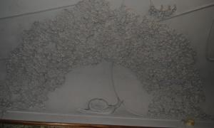 Фрагменты декора потолка