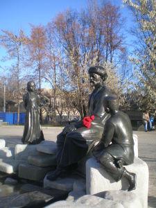 Памятник Мифтахетдину Акмулле. 2008 г. Скульптор В.Дворник
