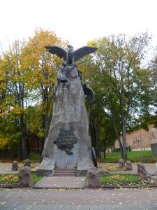 Сквер памяти героев. Смоленск.