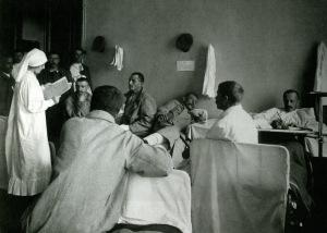 Временный госпиталь в частном училище Мазинга, Москва