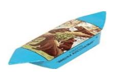 Знаменитая конфета «Мишка Косолапый».