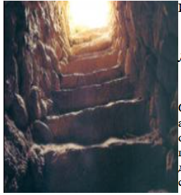 Лестничный проем Иерихонской башни [10]