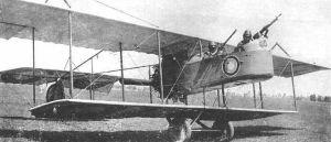 самолет Фарман русской армии