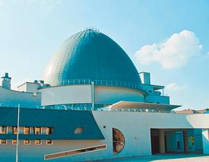 Здание Московского планетария [источник:http://www.planetarium-moscow.ru/]