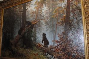 И. Шишкин «Утро в сосновом лесу»