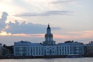 Кунсткамера. Санкт-Петербург.