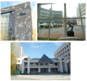 Новый реставрационный центр Эрмитажа «Старая деревня». Санкт-Петербург.