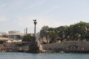 Памятник затопленным кораблям. Севастополь, сентябрь 2015г.