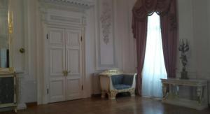 Покои Петровского дворца, в которых Наполеон наблюдал пожар Москвы